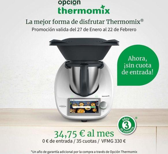 Ahora es el momento , tu Thermomix® te está esperando!