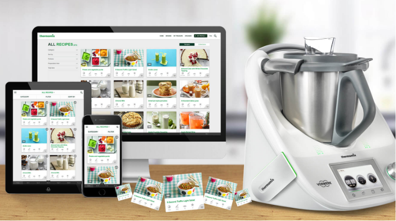 ¡Llega el futuro a nuestras cocinas! Cook-Key Thermomix® , Huelva