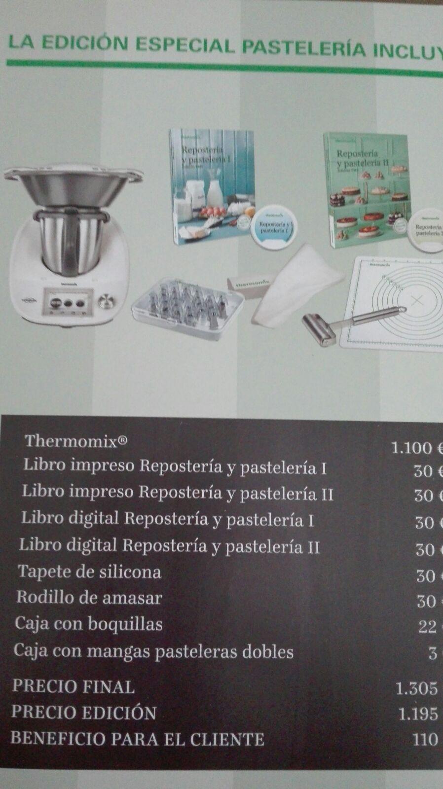 Thermomix® HUELVA ¿Te gusta lo dulce .?