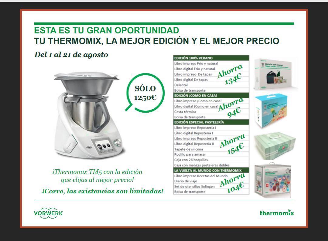 Del 1al 21 de Agosto, tu Thermomix® en Huelva
