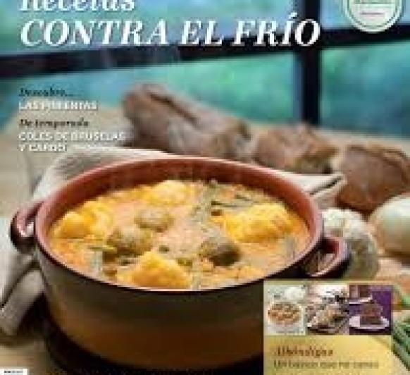 REVISTA MES FEBRERO ''RECETAS CONTRA EL FRIO''