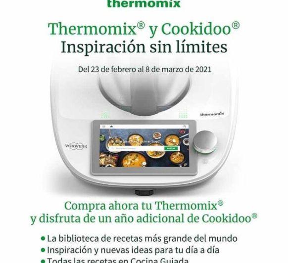 Thermomix® más un año de Cookidoo