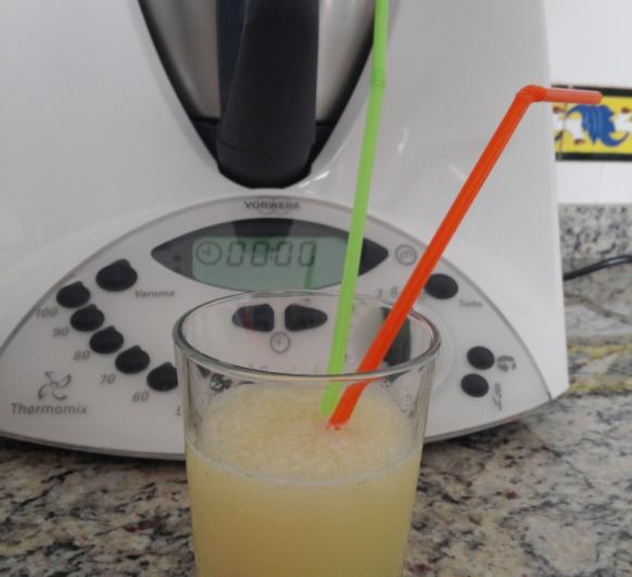 Granizado de limón con Thermomix®