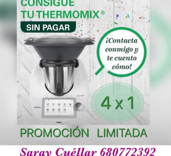 CONSIGUE TU Thermomix® SIN PAGAR, DESDE CASA.