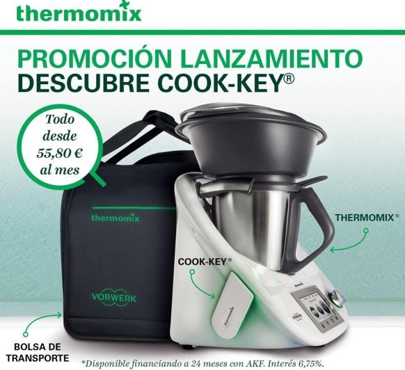 Promoción lanzamiento ''Descubre Cook-key'' Thermomix® Huelva