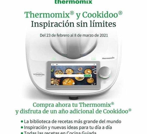 Thermomix® + un año de Cookidoo