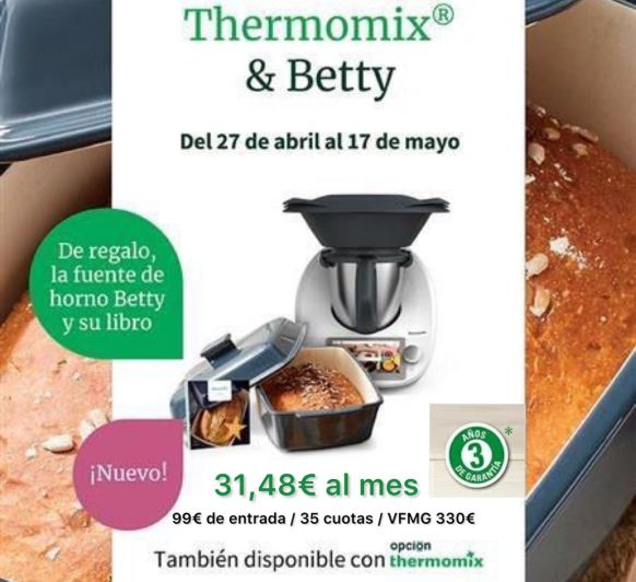 CONSIGUE Thermomix® TM6 SIN PAGAR
