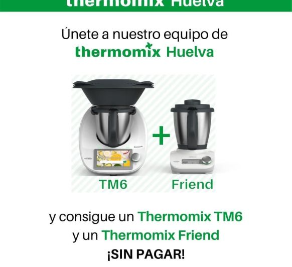 Thermomix® TM6 Y Thermomix® FRIEND (SIN PAGAR)