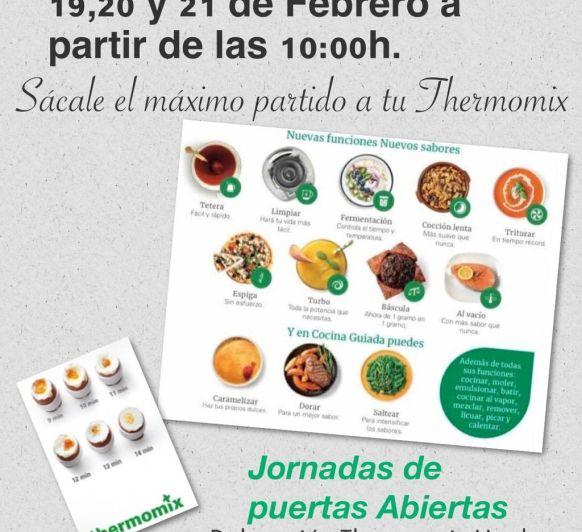 Thermomix® Huelva Nuevos Talleres de Funciones