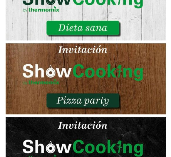 SHOW COOKING...