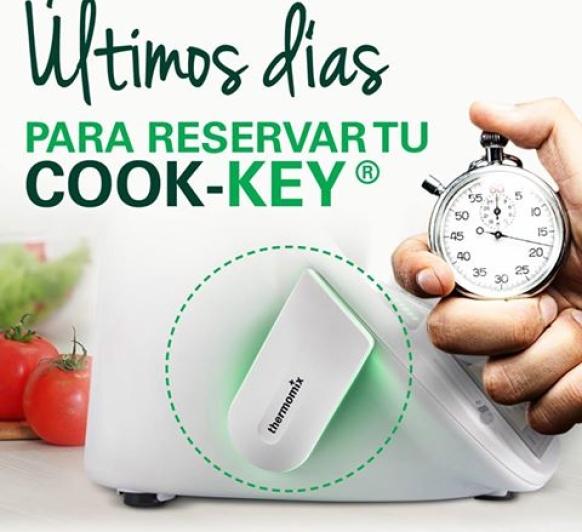 Últimos días para reservar el Cook-key®
