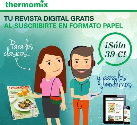 Revista digital gratis al suscribirte en formato papel Thermomix® -Huelva